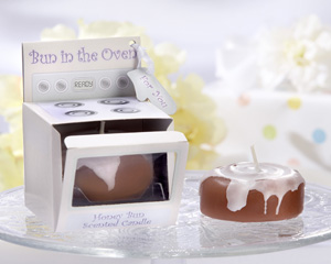 �Bun in the Oven� Scented Candle (Set of 4)