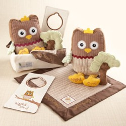 &quot;My Little Night Owl&quot; Five-Piece Baby Gift Set
