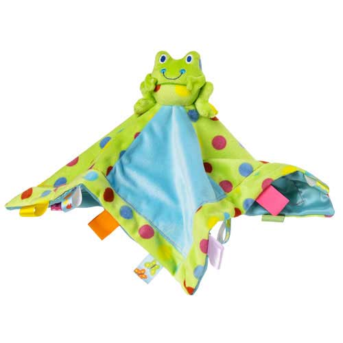 Spotted Frog Character Blanket