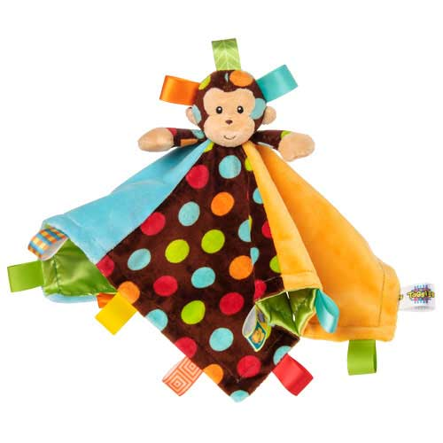 Dazzle Dots Monkey Character Blanket