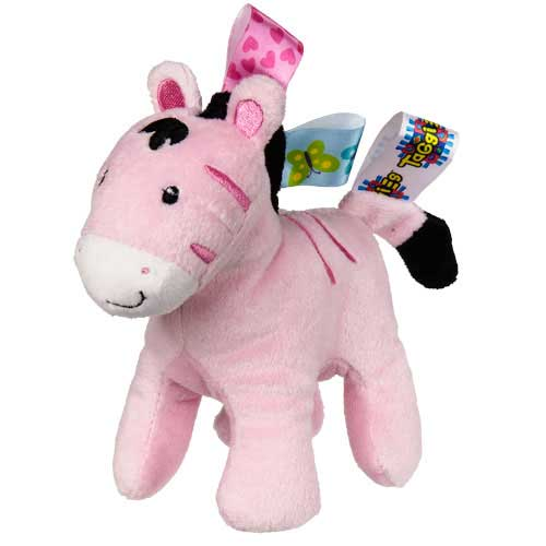 Zoey Zebra Rattle