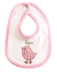 Baby It's You 'Hippie' Chick Bib