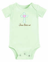 Bundle of Blessings 'Jesus Loves Me' Onesie