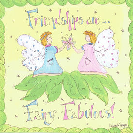 Friendships are Fairy Fabulous Square