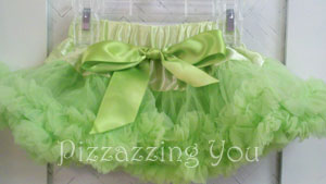 Lime Green Pettiskirt