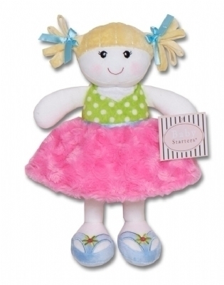 Snuggle Buddy Girl Doll