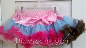 Pink Rainbow Pettiskirt