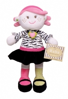 Trendy Girl Doll Snuggle Buddy