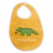Wild Things Alligator Bib