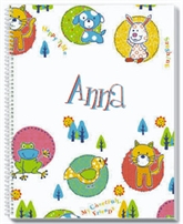 Cheerful Friends Personalized Notebook