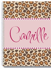 Cheetah Personalized Notebook