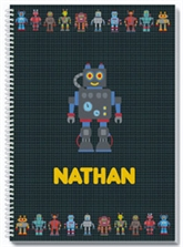 Robotz Personalized Notebook