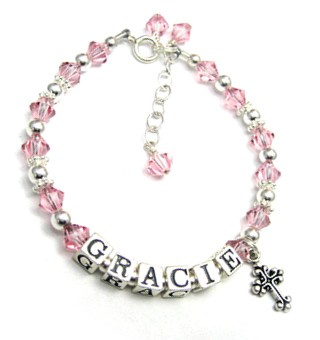 Personalized Crystal Bracelet